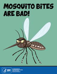 Mosquito Bites are Bad Color Book Thumbnail
