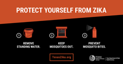 Protect Yourself From Zika Horizontal Graphic Thumbnail